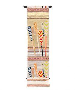 龍村平蔵製 袋帯「大祝矢」のメイン画像