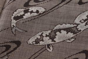 大島紬 着物「鯉」のサブ5画像