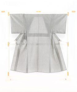 野村半平製 本場夏結城紬男着物のメイン画像