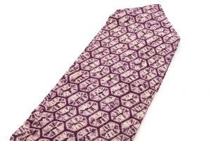 紫根染 綿名古屋帯のサブ1画像