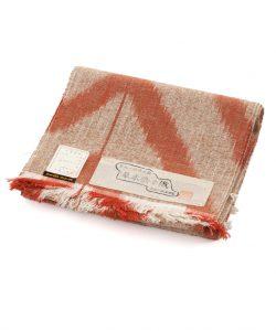 出羽の織座製 手織り八寸帯地のメイン画像