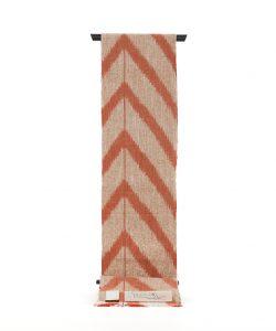 出羽の織座製 手織り八寸帯地のサブ1画像