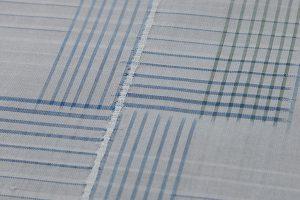 綾の手紬染織工房製 秋山眞和作 綾の手紬着物のサブ4画像
