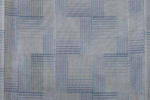 綾の手紬染織工房製 秋山眞和作 綾の手紬着物のサブ5画像