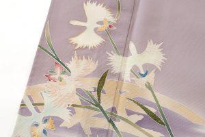 染繍工芸大羊居製 絽訪問着のサブ5画像