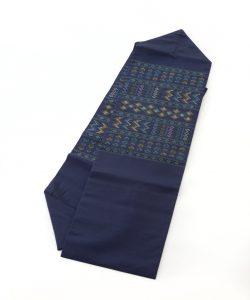 ルバース ミヤヒラ吟子作 首里花織名古屋帯のメイン画像