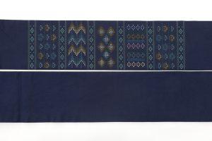 ルバース ミヤヒラ吟子作 首里花織名古屋帯のサブ4画像