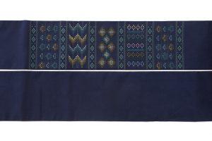 ルバース ミヤヒラ吟子作 首里花織名古屋帯のサブ5画像