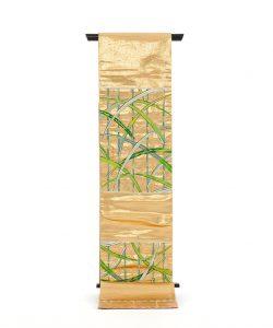 龍村平蔵製 袋帯「国宝葭之図」のメイン画像