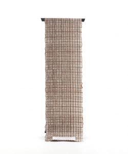 築添純子作 やすら織名古屋帯地のメイン画像