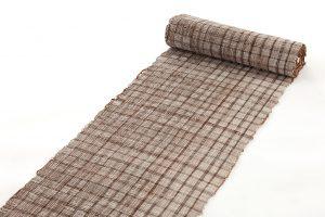 築添純子作 やすら織名古屋帯地のサブ1画像