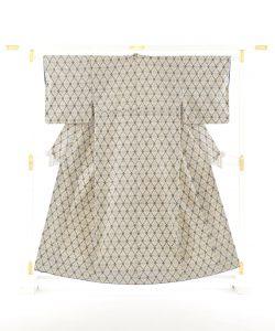 琉球美絣 綿着物のメイン画像