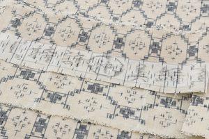 琉球美絣 綿着物のサブ6画像