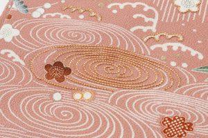 縮緬地刺繍名古屋帯のサブ2画像