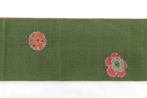 添田敏子作 型絵染紬着物と帯のサブ9画像
