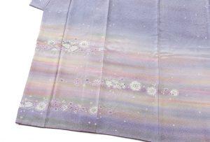初代久保田一竹作 訪問着「彩嶺」のサブ3画像