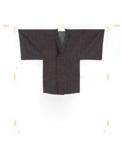 結城紬地コートのメイン画像