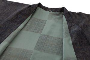 結城紬地コートのサブ2画像