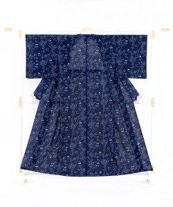 小川内龍夫作 久留米絣 着物のメイン画像
