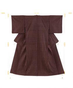 ざざんざ織着物のメイン画像