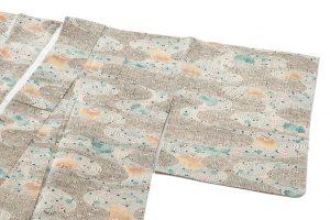 型染紬着物のサブ1画像