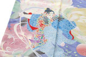 山名田明生作 本加賀友禅訪問着のサブ5画像