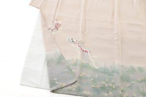 初代由水十久作 本加賀友禅色留袖のサブ2画像
