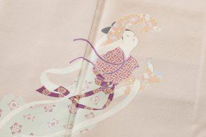 初代由水十久作 本加賀友禅色留袖のサブ3画像