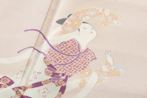 初代由水十久作 本加賀友禅色留袖のサブ6画像