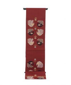 龍村平蔵製 袋帯「孔雀いちご」のメイン画像