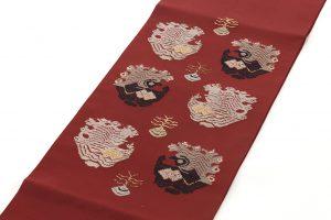 龍村平蔵製 袋帯「孔雀いちご」のサブ1画像