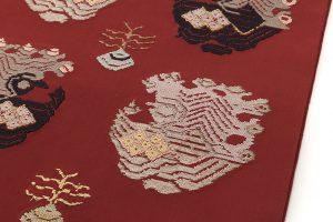 龍村平蔵製 袋帯「孔雀いちご」のサブ3画像