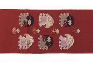 龍村平蔵製 袋帯「孔雀いちご」のサブ5画像