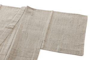 ざざんざ織 単衣男着物のサブ1画像