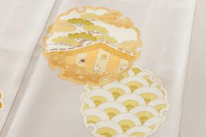 志ま亀製 色留袖のサブ4画像