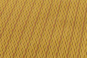 山下八百子作 黄八丈着物のサブ4画像