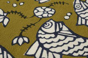柚木沙弥郎作 型絵染名古屋帯のサブ2画像