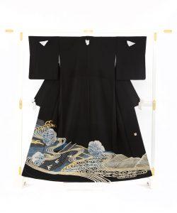 五代田畑喜八作 留袖(袋帯付き)のメイン画像