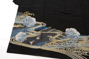 五代田畑喜八作 留袖(袋帯付き)のサブ1画像