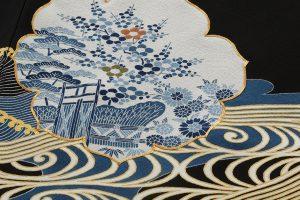 五代田畑喜八作 留袖(袋帯付き)のサブ3画像