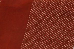 茜染 綿名古屋帯のサブ2画像