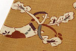 型絵染 紬名古屋帯のサブ2画像
