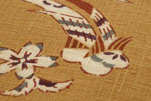型絵染 紬名古屋帯のサブ4画像