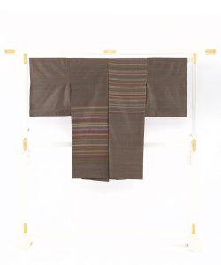 山本和子作 紬コートのメイン画像