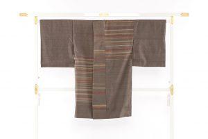 山本和子作 紬コートのサブ1画像