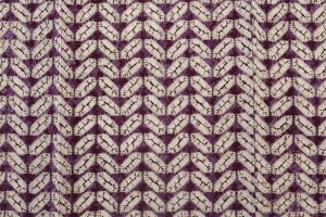紫根染 紬着物のサブ4画像