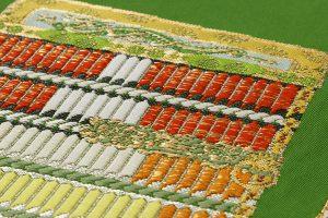 龍村平蔵製 袋帯「威毛錦緑色」のサブ4画像