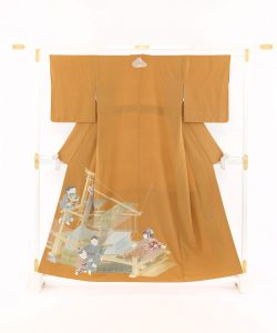 初代由水十久作 色留袖「機殿」のメイン画像