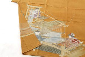 初代由水十久作 色留袖「機殿」のサブ2画像