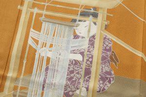 初代由水十久作 色留袖「機殿」のサブ3画像